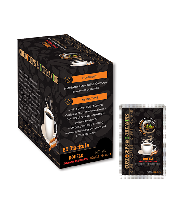 Double Instant Espresso Box 25 Pouches