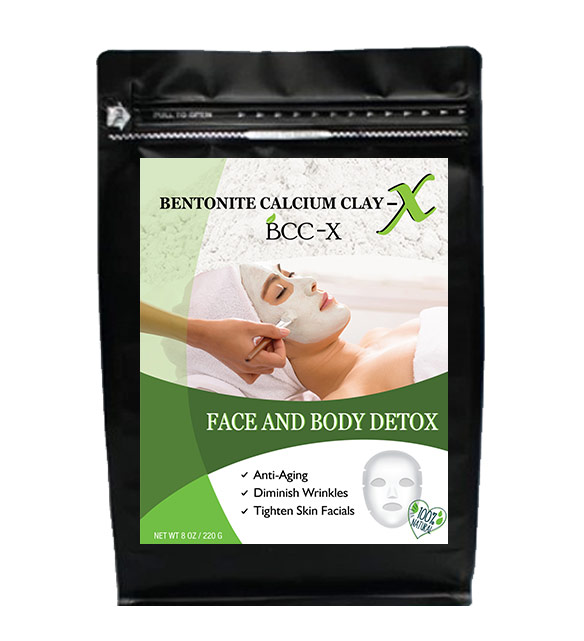 Bentonite BCC-X face and body detox 220gr
